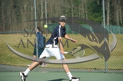 Men's Tennis vs. Merrimack (03/20/10) Courtesy Gil Talbot