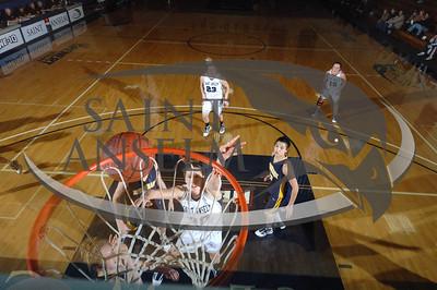 Women's Basketball vs. Merrimack (01/02/10) Courtesy Gil Talbot