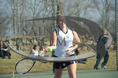 Women's Tennis vs. Merrimack (03/20/10) Courtesy Gil Talbot
