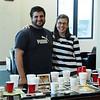 SALDF students Jonathan E. Pitel and France Bognon run the competition.