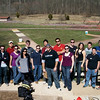 March 19, 2010 | The Federalist Society hosted students for a firearm safety instruction and clay-target practice event at the Bull Run Shooting Range.