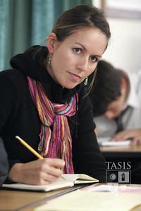 English teacher, Ms. Mastain