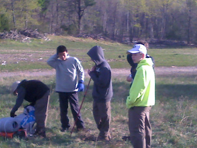 Appalachian Trail Hike, Ft. Indiantown Gap