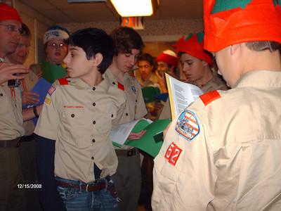 Caroling at Briarleaf 2009