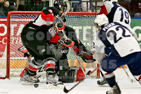 Justin Feser scores in the 2nd period