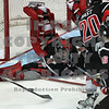 Brooks Macek puts the game out of reach with the Am's third goal against Moose Jaw.