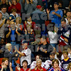 Americans score and the fans celebrate