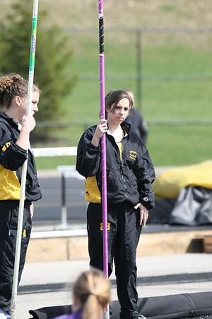 2010-03-27 Elk Relays Girls Pole Vault