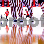 Dec. 8, 2009 - Albemarle warms up before a game against Brooke Point. <br /> photo Ashley Twiggs