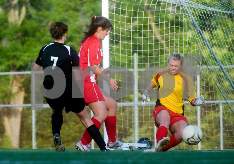 May 20, 2010 - Charlottesville vs. Goochland girls soccer quarterfinals <br /> <br /> Photo Ashley Twiggs