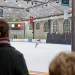 """Charlottesville, VA 2009: Charlottesville Figure Skating Club's """"Holiday in the City"""" Skating Show at the Ice Park on the Downtown Mall. (photo by Sarah Oehl)"""