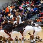 Charlottesville prepares for a game against Madison. photo Ashley Twiggs