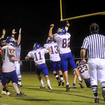 Western celebrates a touchdown against Charlottesville. photo Ashley Twiggs