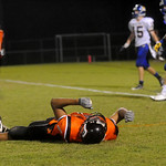 Charlottesville's Maurice Jackson reacts to a missed catch during a game against Western. photo Ashley Twiggs