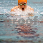 Jan. 6, 2010 - Charlottesville's Brodde Lamb swims the 200 IM. <br /> photo Ashley Twiggs