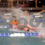 Feb. 12, 2010 - Charlottesville's Brodde Lamb swims the 200 Meter IM during the JD Championships on Friday night at FUMA. photo Ashley Twiggs