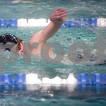 Feb. 12, 2010 - Western Albemarle's Alex Rayle competes in the 200 M IM during the JD Championships on Friday night at FUMA. photo Ashley Twiggs