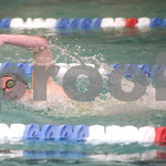 Feb. 12, 2010 - Western Albemarle's Natalie Cronk competes in the 200 M Free during the JD Championships on Friday night at FUMA. photo Ashley Twiggs