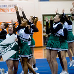 William Monroe cheerleaders compete in the Jefferson District Championships. photo Ashley Twiggs