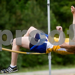Mineral, Va., May 19, 2010 - Western's Christine Wesner competes in the high jump. photo Ashley Twiggs