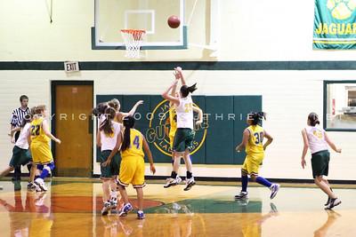 Jr High Basketball v. Spur