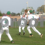 April 7, 2010 - William Monroe #1 (in center) <br /> photo Ashley Twiggs
