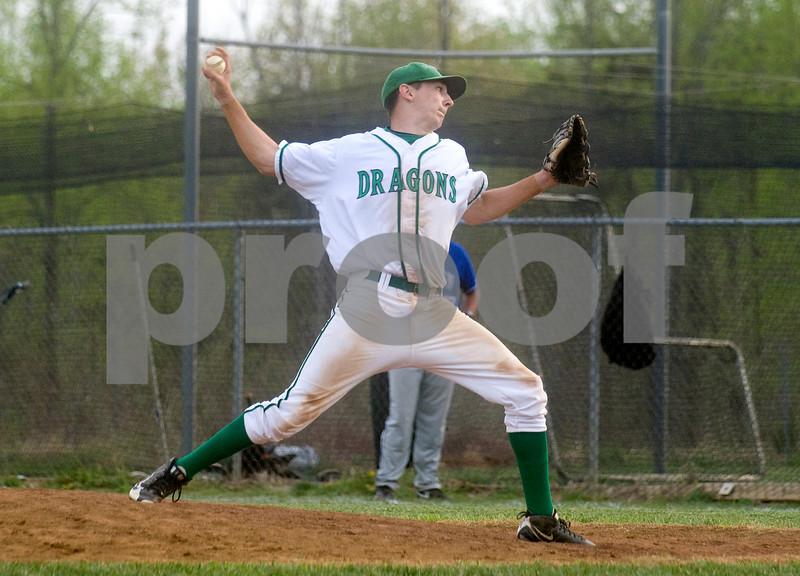 April 7, 2010 - William Monroe, second pitcher<br /> <br /> photo Ashley Twiggs