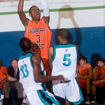 Woodberry's CJ Prosise holds the ball for Woodberry. photo Ashley Twiggs