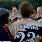Sept. 14, 2009, Charlottesville, Va. - The Monticello Mustangs prepare for a home game against Louisa County. photo Ashley Twiggs