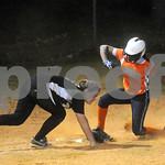 April 6, 2010 - Monticello High School<br /> Orange # 12, Monticello # 17<br /> photo Ashley Twiggs