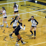 Monticello celebrates a point against Western. photo Ashley Twiggs3