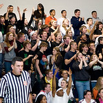 Monroe fans cheer for the team during a game against Western. photo Ashley Twiggs