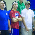 Blue Ridge fans cheer for their team during a game against Australia. photo Ashley Twiggs
