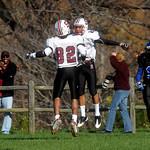 STAB celebrates a touchdown against Blue Ridge.