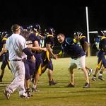 Fluvanna celebrates a touchdown against Western. photo Ashley Twiggs