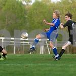 April 11, 2010 - Soccer, Western vs. CHS at CHS<br /> Photo Ashley Twiggs