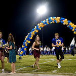 Oct. 2, 2009 - Western Albemarle's Homecoming King and Queen, left, and their Prince and Princess, right, are crowned during halftime of a game against Louisa. photo Ashley Twiggs
