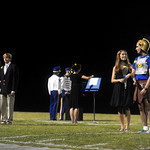 Oct. 2, 2009 - The Homecoming Court takes the field at Western Albemarle High School. photo Ashley Twiggs