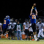Oct. 2, 2009 - Western's Tyler Ward intercepts a pass. photo AShley Twiggs