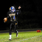 Stephen Schuler, 14, looks to pass. photo Ashley Twiggs