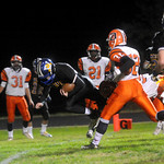 Stephen Schuler dives for a touchdown. photo Ashley Twiggs