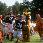 Oct. 3, 2009 - The Woodberry Forest fans greet the team on the field before a game against FUMA. photo Ashley Twiggs