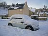 """<DIV ALIGN=RIGHT><i><a class=""""nav"""">© Marta Popovics</a></i></DIV> 6-1-2010 Otho cada vez mais afundado na neve."""