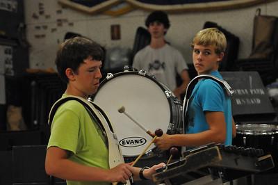 SPHS Band Sept 02