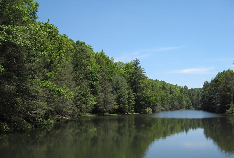 Seneca Lake.  See the fisherman?