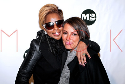 New York, NY - December 23:  The album release party for Mary J. Blige, New York, USA