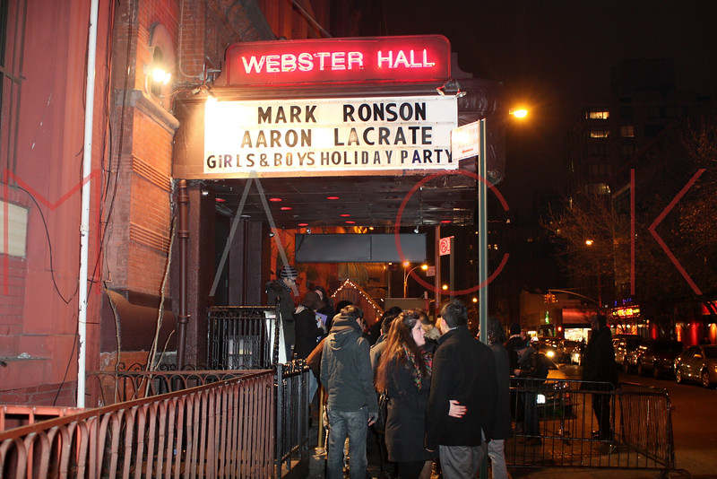 New York - December 18: Atmosphere at the Mark Ronson Holiday Party at Webster Hall on Friday, December 18, 2009 in New York, NY.  (Photo by Steve Mack/S.D. Mack Pictures)
