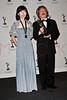press room for the 37th International Emmy Awards, New York, USA