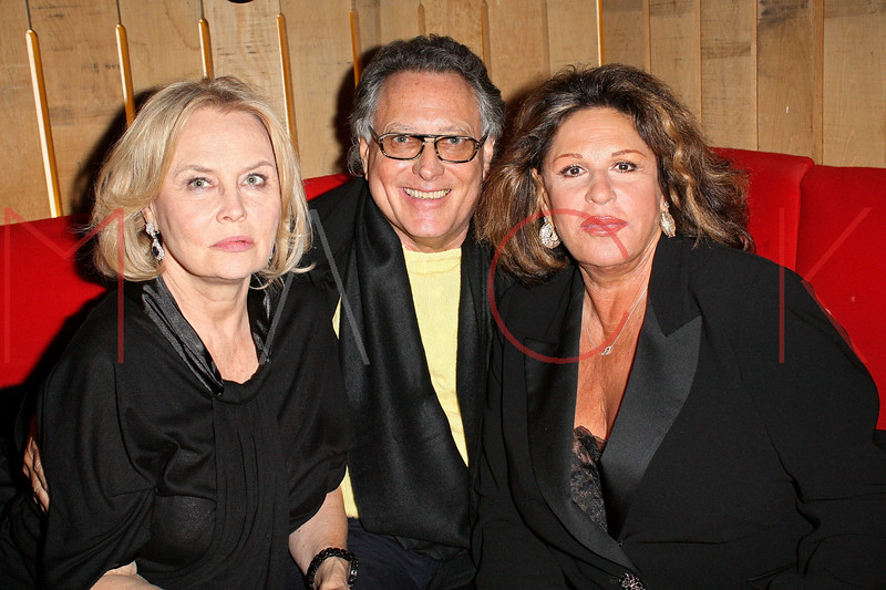 """NEW YORK - OCTOBER 29:  (L-R) Cornelia Sharpe Bregman, Errol Rappaport and actress Lainie Kazan attend the after party following amfAR's New York screening of the film """"Oy Vey! My Son Is Gay!"""" at Pop Burger on October 29, 2009 in New York City.  (Photo by Steve Mack/S.D. Mack Pictures) *** Local Caption *** Cornelia Sharpe Bregman; Errol Rappaport; Lainie Kazan"""