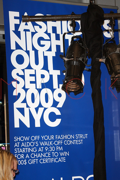 NEW YORK - SEPTEMBER 10:  Atmosphere at the celebration for Fashion's Night Out at ALDO on September 10, 2009 in New York City.  (Photo by Steve Mack/Getty Images for ALDO)